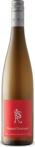 Flat Rock Nadja's Vineyard Riesling 2018, VQA Twenty Mile Bench, Niagara Escarpment Bottle