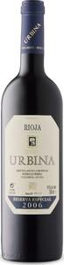 Urbina Reserva Especial 2006, Doca Rioja Bottle