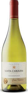 Santa Carolina Gran Reserva Chardonnay 2017, Certified Carbon Neutral, Do Itata Valley Bottle