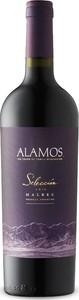 Alamos Selección Malbec 2016, La Consulta, Uco Valley, Mendoza Bottle