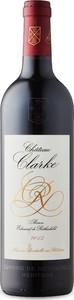 Château Clarke 2015, Ac Listrac Médoc Bottle