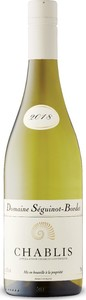 Domaine Séguinot Bordet Chablis 2018 Bottle