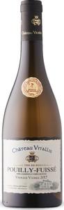 Château Vitallis Vieilles Vignes Pouilly Fuissé 2017 Bottle