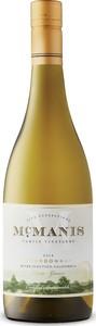 Mcmanis Chardonnay 2018, Estate Grown, River Junction Bottle