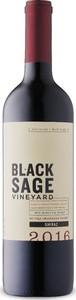 Black Sage Shiraz 2016, Okanagan Valley Bottle