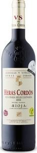 Heras Cordon Vendimia Seleccionada Crianza 2016, Vegan, Doca Rioja Bottle