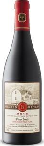 Hidden Bench Pinot Noir Unfiltered 2018, Beamsville Bench Bottle