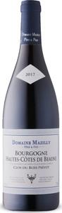 Mazilly Bourgogne Hautes Côtes De Beaune 2017, Ac Bottle