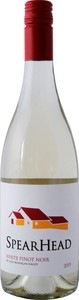 Spearhead Winery White Pinot Noir 2019, Okanagan Valley Bottle