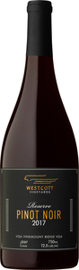 Westcott Reserve Pinot Noir 2017, VQA/ Vinemount Ridge Bottle