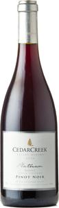 CedarCreek Platinum Pinot Noir Block 2 2017, Okanagan Valley Bottle