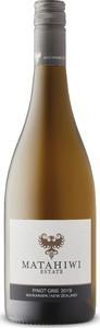 Matahiwi Pinot Gris 2019, Wairarapa, North Island Bottle