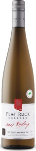 Flat Rock Cellars Riesling, Twenty Mile Bench Bottle