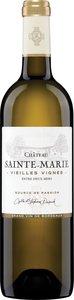 Château Sainte Marie Vieilles Vignes Entre Deux Mers 2018, Ac Bottle