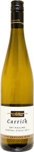 Carrick Dry Riesling 2012, Central Otago Bottle