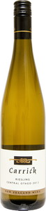 Carrick Riesling 2012, Central Otago Bottle