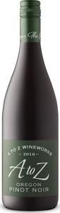 A To Z Wineworks Pinot Noir, Oregon Bottle