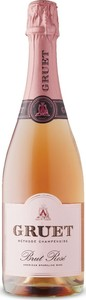 Gruet Brut Sparkling Rosé, Méthode Traditionnelle, New Mexico Bottle