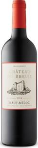Château Du Breuil 2014, Ac Haut Médoc Bottle
