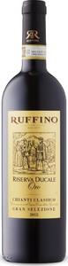Ruffino Riserva Ducale Oro Gran Selezione Chianti Classico 2015, Docg Tuscany Bottle