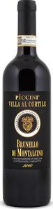 Piccini Villa Al Cortile Brunello Di Montalcino Docg 2015 Bottle