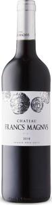 Chãteau Francs Magnus 2018, Ac Bordeaux Superieur, Bordeaux Bottle
