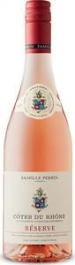 Famille Perrin Reserve Rosé 2019, Ac Cotes Du Rhone Bottle