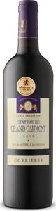 Château Du Grand Caumont Cuvée Tradition Corbières 2018, Ap, Midi Bottle