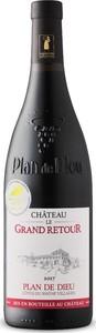 Château Le Grand Retour Plan De Dieu Côtes Du Rhône Villages 2017, Ac, Rhône Bottle