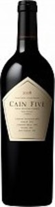 Cain Vineyard And Winery Cain Five 2013, Napa Valley Bottle