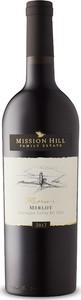 Mission Hill Reserve Merlot 2017, BC VQA Okanagan Valley, Bc Bottle