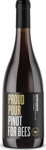 Proud Pour Pinot For Bees Pinot Noir 2018, Ontario Bottle