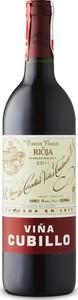 R. López De Heredia Viña Cubillo Crianza 2011, Doca Rioja Bottle