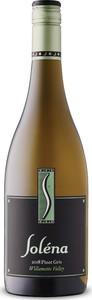 Soléna Cellars Pinot Gris 2018, Willamette Valley, Oregon Bottle