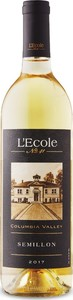 L'ecole No. 41 Semillon 2017, Columbia Valley, Washington Bottle