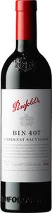 Penfolds Bin 407 Cabernet Sauvignon 2018, South Australia Bottle