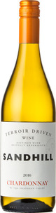 Sandhill Chardonnay Terroir Driven Wine 2019, BC VQA Okanagan Valley Bottle