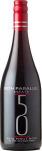 50th Parallel Profile Pinot Noir 2018, BC VQA Okanagan Valley Bottle