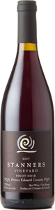 Stanners Pinot Noir 2018, VQA, Prince Edward County Bottle