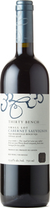 Thirty Bench Small Lot Cabernet Sauvignon 2017, VQA Beamsville Bench Bottle