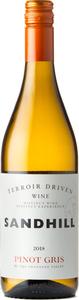 Sandhill Pinot Gris Terroir Driven Wine 2019, BC VQA Okanagan Valley Bottle