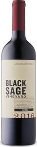 Black Sage Shiraz 2017, Okanagan Valley VQA Bottle