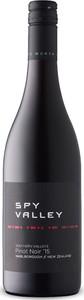 Spy Valley Pinot Noir 2016, Marlborough, South Island Bottle