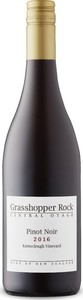 Grasshopper Rock Earnscleugh Vineyard Pinot Noir 2017, Central Otago, South Island Bottle