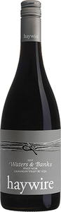 Haywire Waters & Banks Pinot Noir 2016, BC VQA Okanagan Valley Bottle