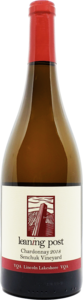 Leaning Post Senchuk Vineyard Chardonnay 2018, VQA Lincoln Lakeshore, Niagara Peninsula Bottle
