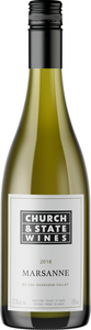 Church & State Marsanne 2018, VQA Okanagan Valley  Bottle