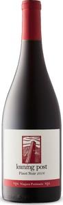 Leaning Post Pinot Noir 2016, VQA Niagara Peninsula, Ontario Bottle