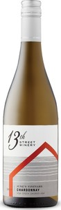 13th Street June's Vineyard Chardonnay 2019, VQA Creek Shores, Niagara Peninsula, Ontario Bottle