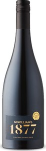 Mcwilliam's 1877 Hilltops Shiraz 2018, New South Wales Bottle